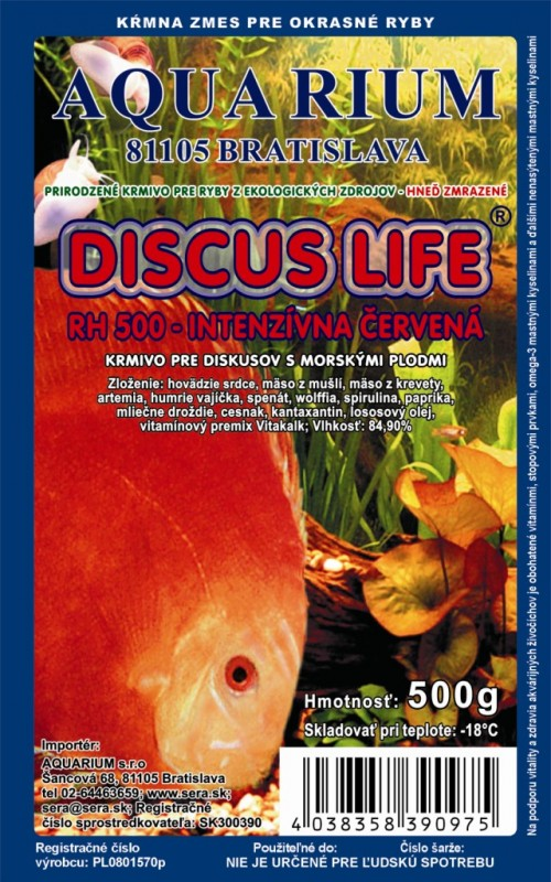 discus life (HS - special) - intensive red